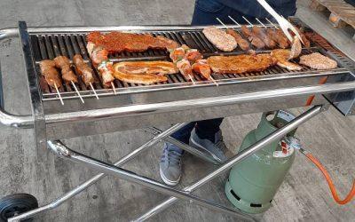 Foto's jaarlijkse barbecue Euromaas